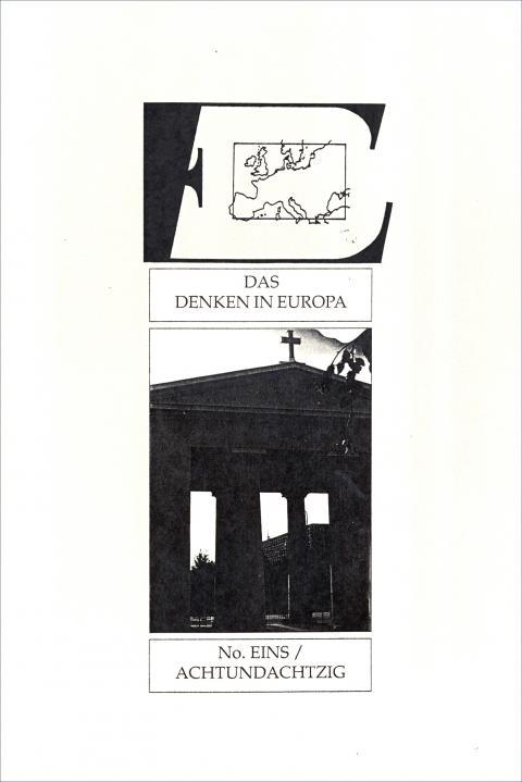 Das Cover der Zeitschrift E