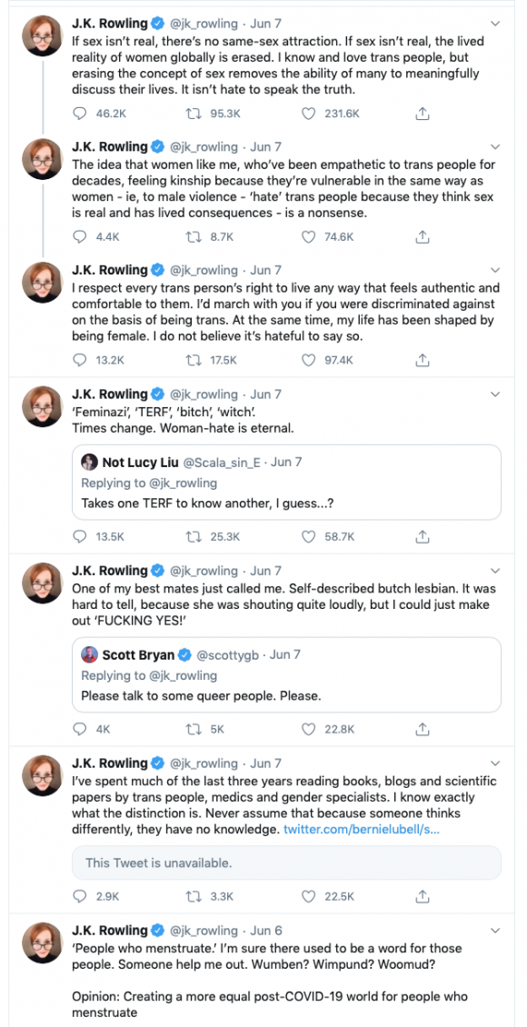 Tweets by JK Rowling