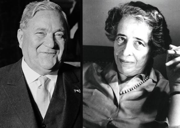 Carlo Schmid und Hannah Arendt