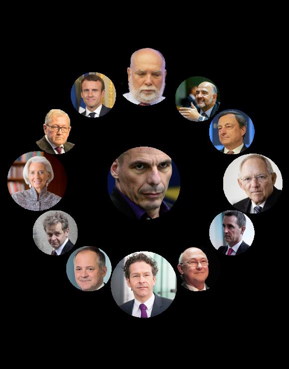 The European and international staff