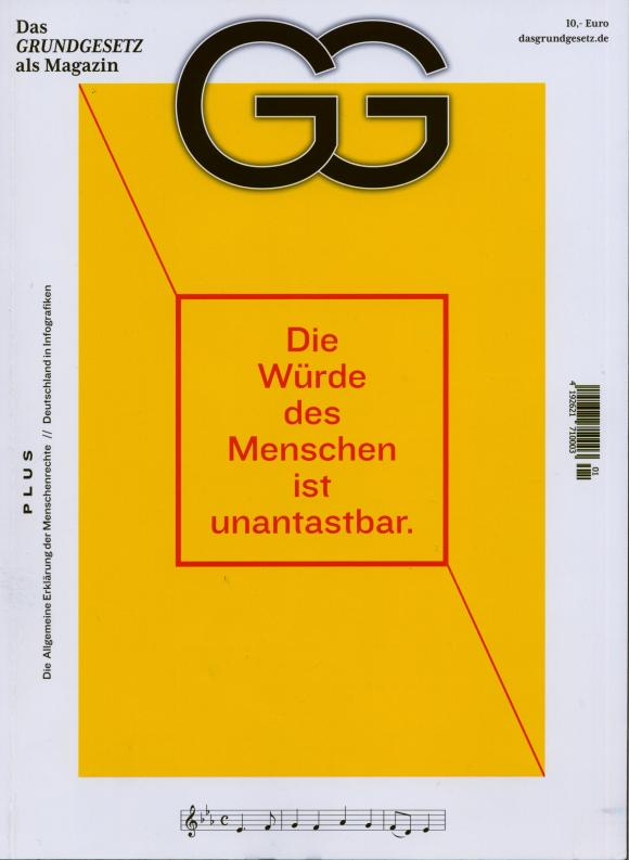 Titel des Grundgesetz Magazines
