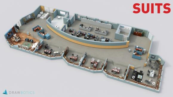 Das Büro zur Serie als 3D-Image