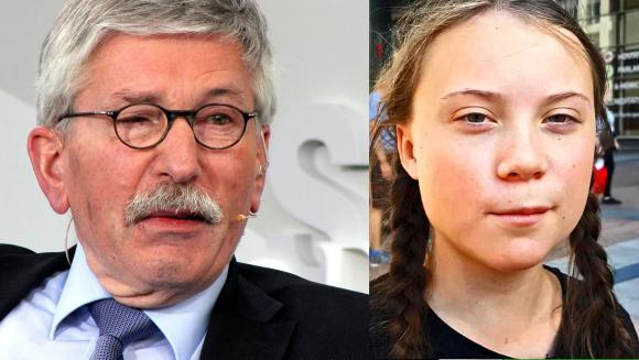 Thilo Sarrazin und Greta Thunberg