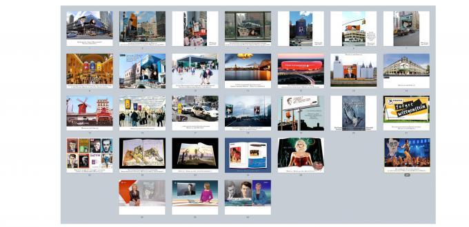 Serie mit Abbildungen der WerbeKampagne