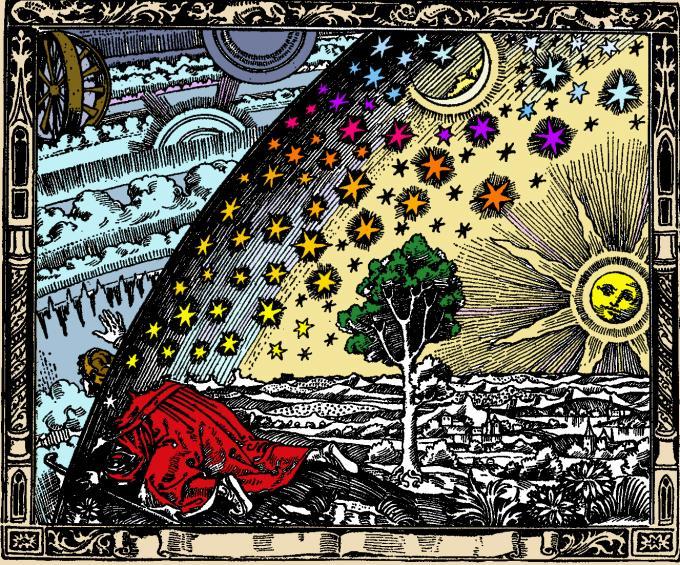 Illustration Kopernikaische Wende