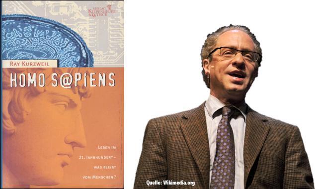 Ray Kurzweil und sein Buch Homo Sapiens